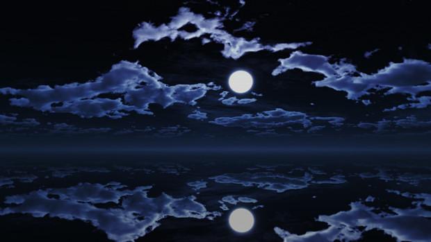 【MMDステージ配布】暗めの月夜 TB6【スカイドーム】