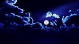 【MMDステージ配布】深い青色の夜 TB7【スカイドーム】