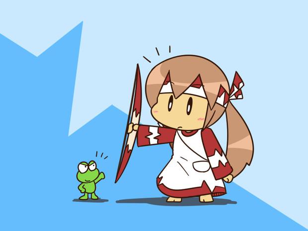 『カエルと弓使い』のビット。