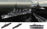 MMD用モブ駆逐艦1945セット