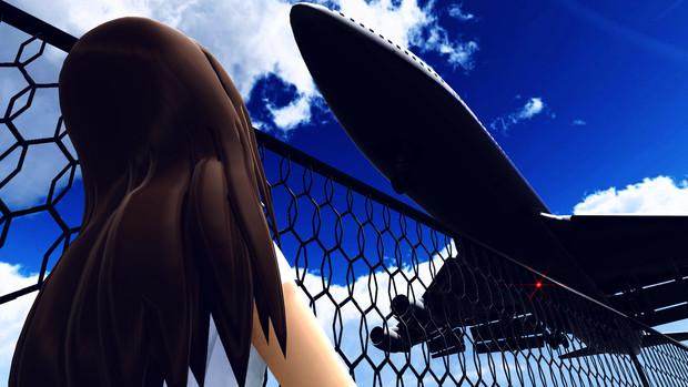 Jumbo Under the Blue Sky