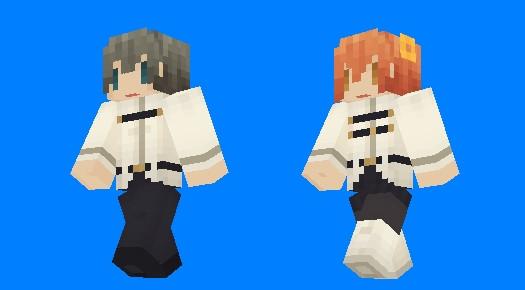 【Minecraft】ぐだーずスキン・サンプル【FateGO】