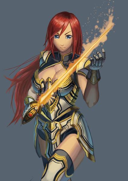 女騎士的な
