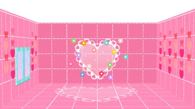【MMD】ファンシーな箱ステージ配布