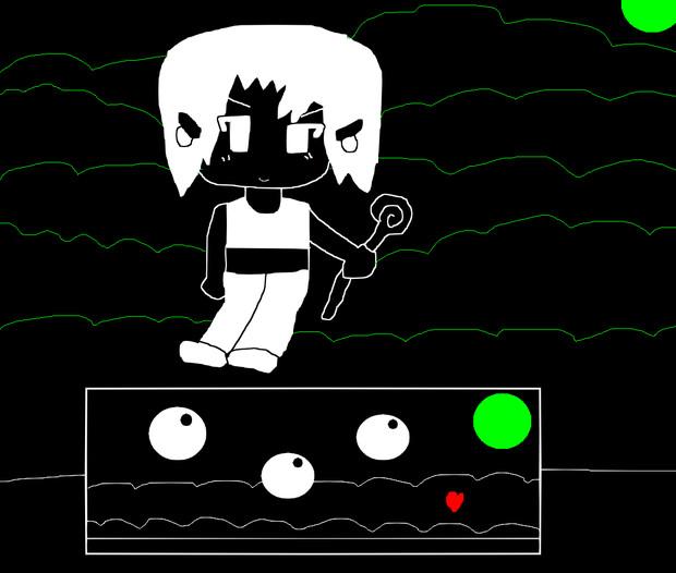 洞窟物語×アンダーテイル(ミザリー戦)