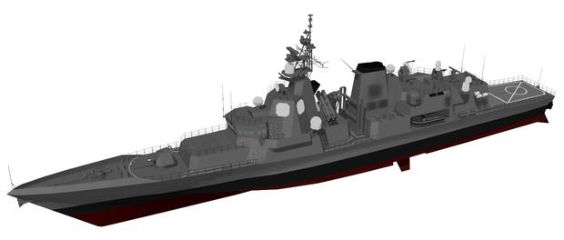 【モデル配布】リートゥス級ミサイルフリゲイト【MMDオリメカ】