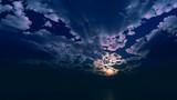 【MMDステージ配布】暗い夕焼け TE4【スカイドーム】