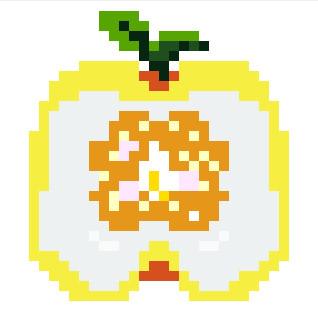 獅子柚子 ドット絵