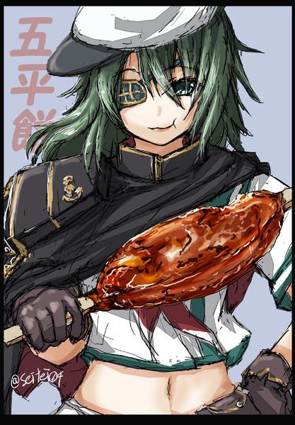 木曽が持ってきた戦闘糧食は五平餅だった