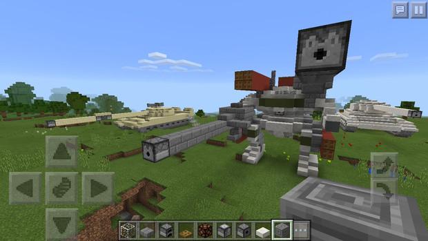 【Minecraft】機動兵器 陸上専用機