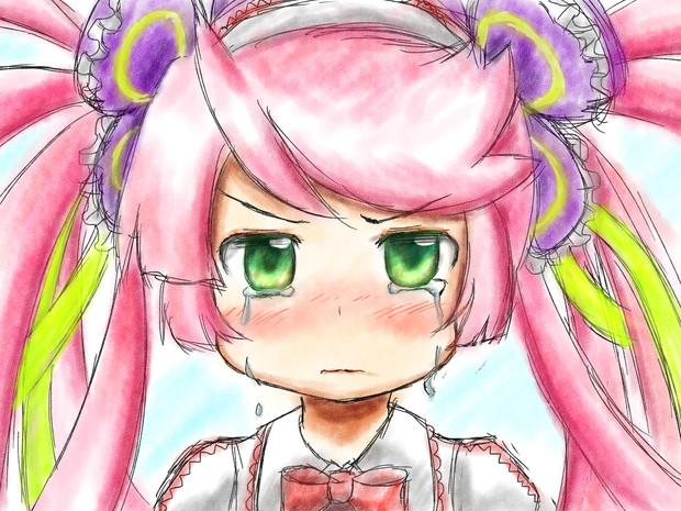 泣き顔ナナちゃん