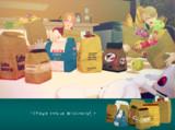 【MMD】小麦粉・紙袋・買い物袋 配布