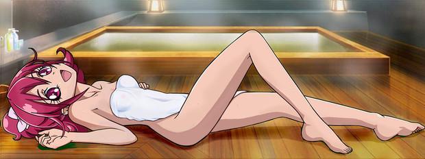 相田生徒会長と檜風呂