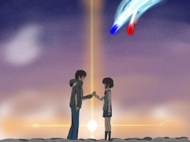 君の名は 彗星