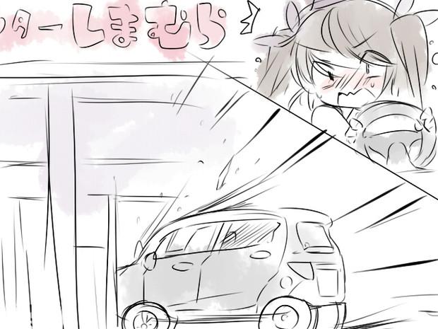 しまむらに車で突っ込むはたて