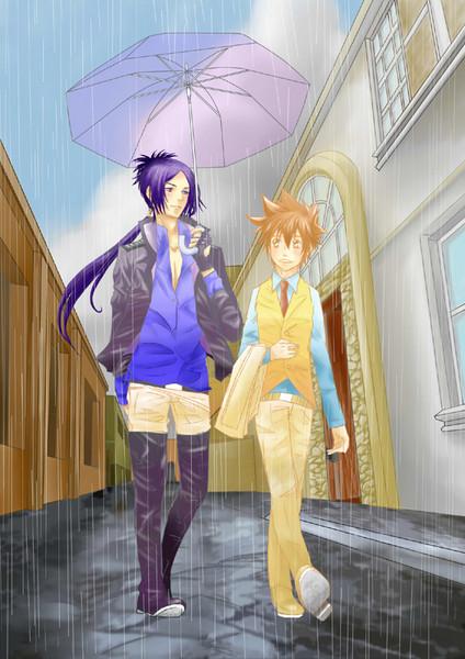 雨の日の・・・