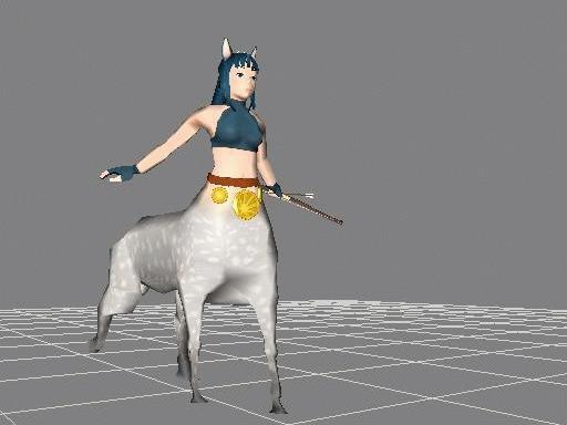馬っ娘歩く