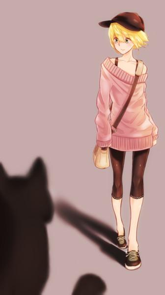 オリキャラと猫