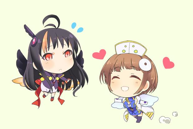 [神姫]ニケとヤタガラス