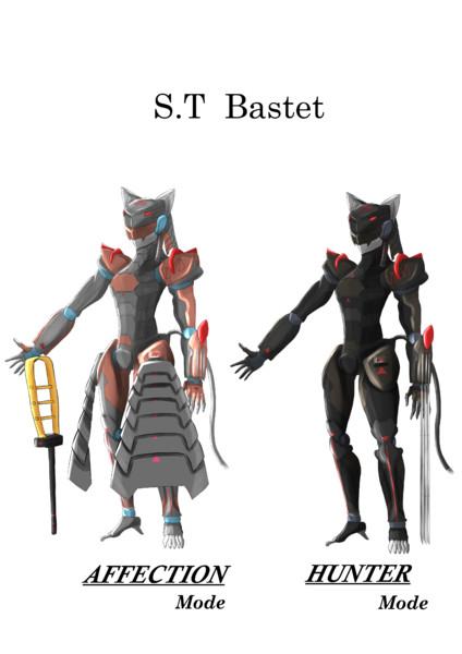 オリジナルロボット 『バステト』