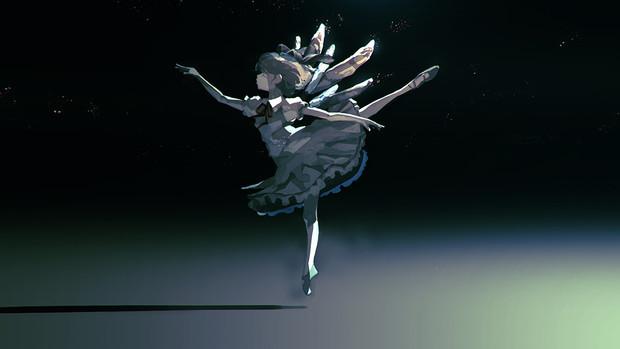 夜中のバレエ