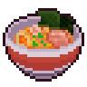 醤油ラーメン (ドット絵)