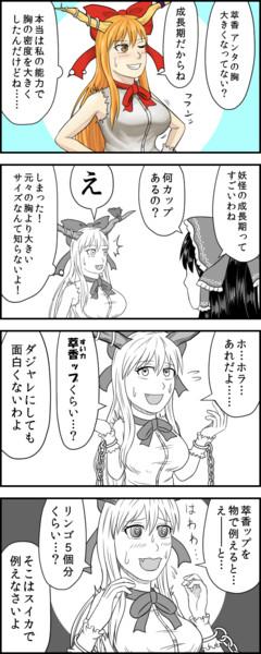 すいかっぷ4コマ