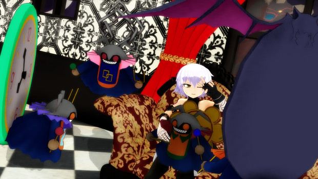 【Fate/MMD】王と同じ名を持つ彼女の為に奏でる悪魔の福音