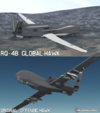 【MMD】RQ-4B グローバルホーク