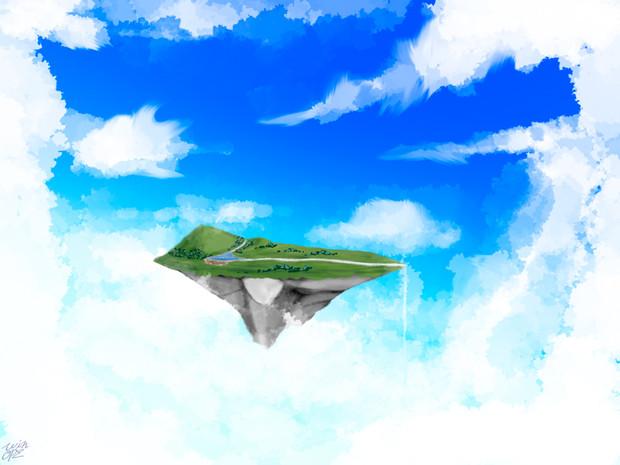 空の上には何があるのか。