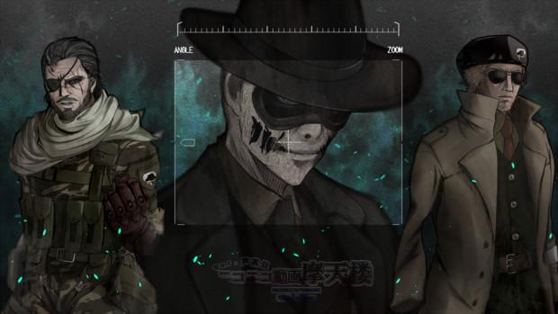 【声真似】ニコニコ動画摩天楼【手描き&MMD】メタルギアのターン!