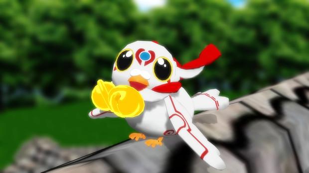 【MMD刀剣乱舞】鳩を放つぞー!!【モデル配布】