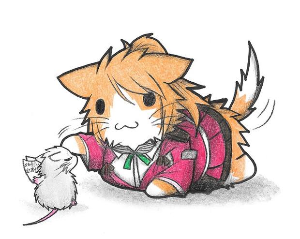 ネズミ提督とアクィラネコ