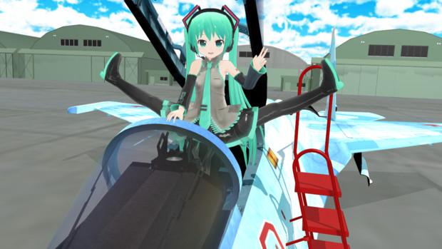 【MMD空軍】フランカーに搭乗するぴくちゃん