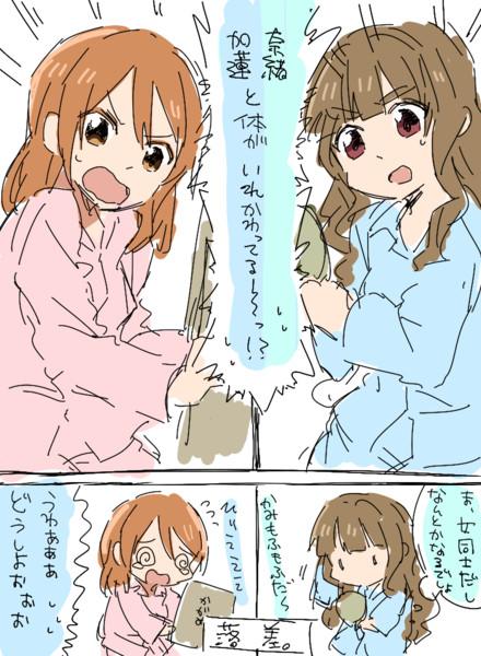 君の名は奈緒と加蓮