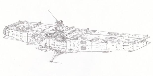宇宙航空母艦ニュージーランド「自作艦」
