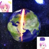 OPC3でチョップ避けたら、地球が・・・Σ(゚Д゚;)