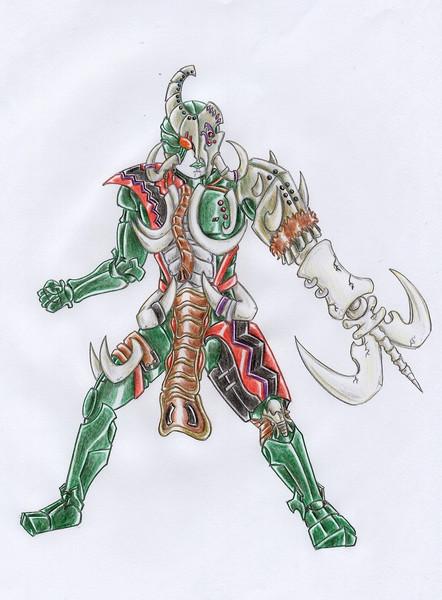 オリジナル怪人/マンモスギフター