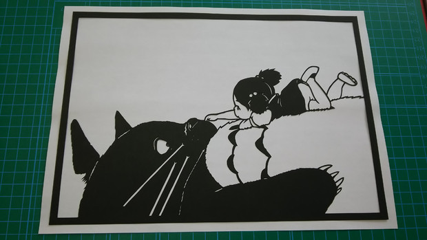切り絵となりのトトロ えのちゃん さんのイラスト ニコニコ静画