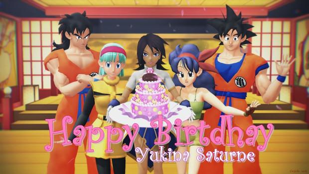 良い誕生日 Yukina Saturne.
