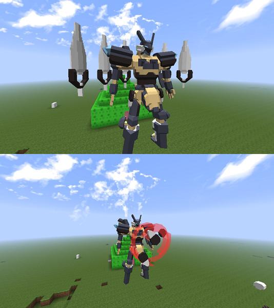 ジェフティver0.1 ホーミングミサイル&ウィスプ