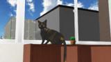 【MikuMikuDance】サビ猫あずきの日常