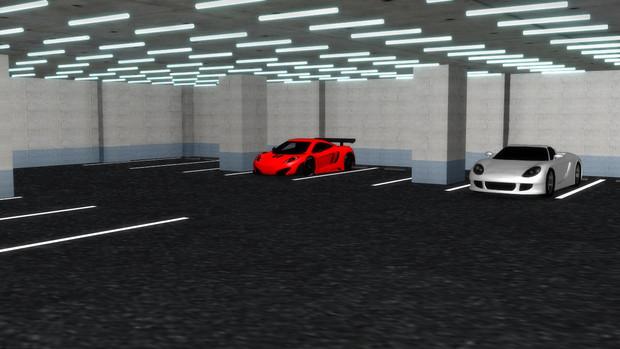 【ステージ配布】 地下駐車場