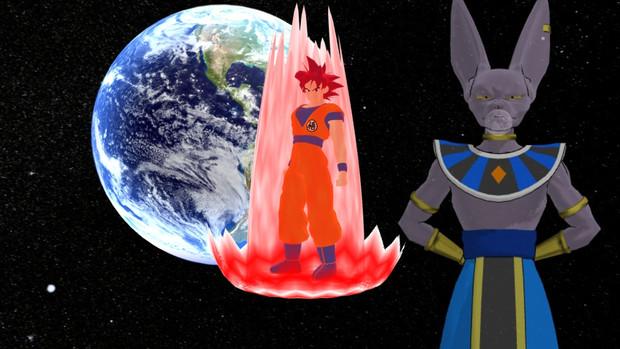 スーパーサイヤ人ゴッド 神と神