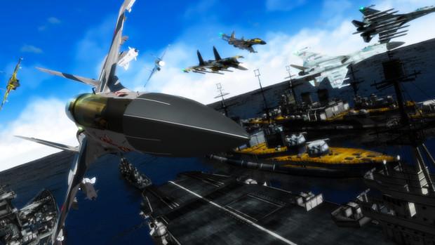 【MMD】戦艦と戦うフランカー