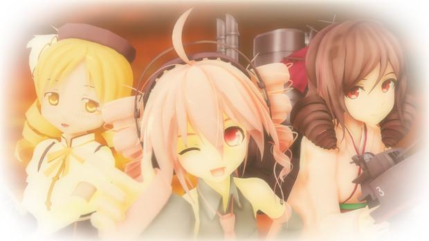 【MMD】テトさん、マミさん、春風さん