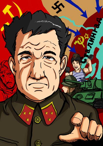 ソ連軍第62軍司令ワシーリー・チュイコフ中将