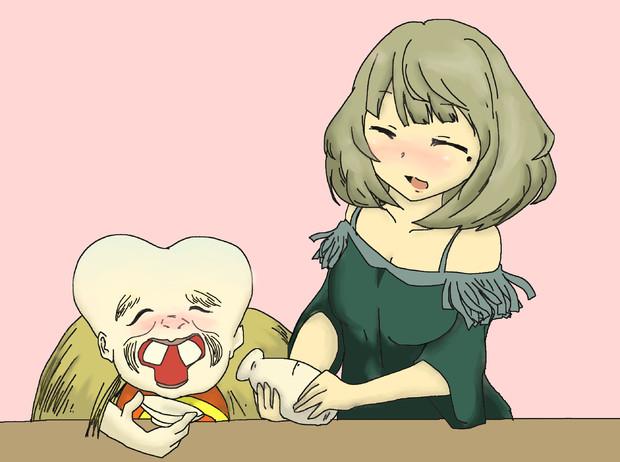 楓さんと子泣き爺