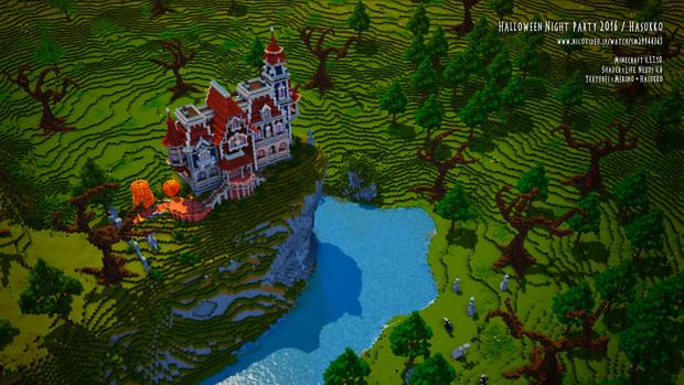 【Minecraft】Halloween Night Party 2016 ドールハウス その2