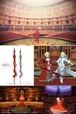 【Fate/MMD】原初の火、ドムス・アウレア【武器・ステージ配布】